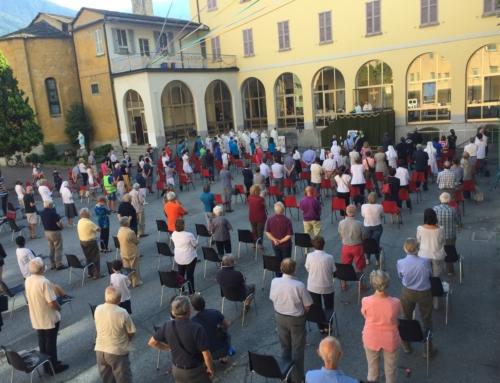 Il Rettor Maggiore a Sondrio per festeggiare don Egidio Viganò